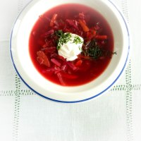 Borsch. A Simpler Version
