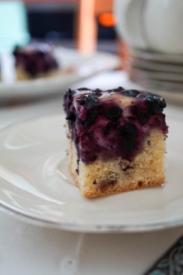 Estonian Blueberry Cake