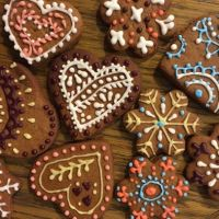 Gingerbreads. Piparkoogid.