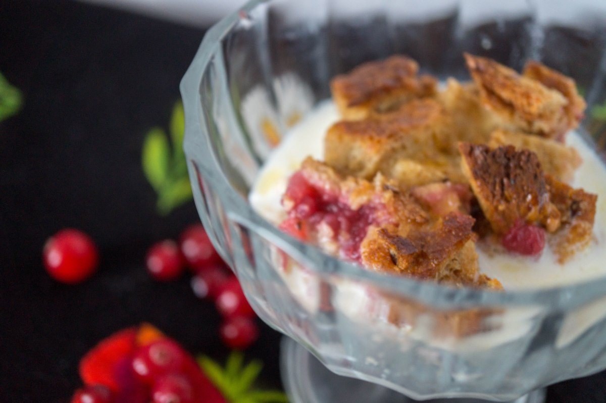 Estonian Bread Pudding. Saiavorm