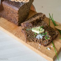 How To Do Estonian Black Bread. Leib