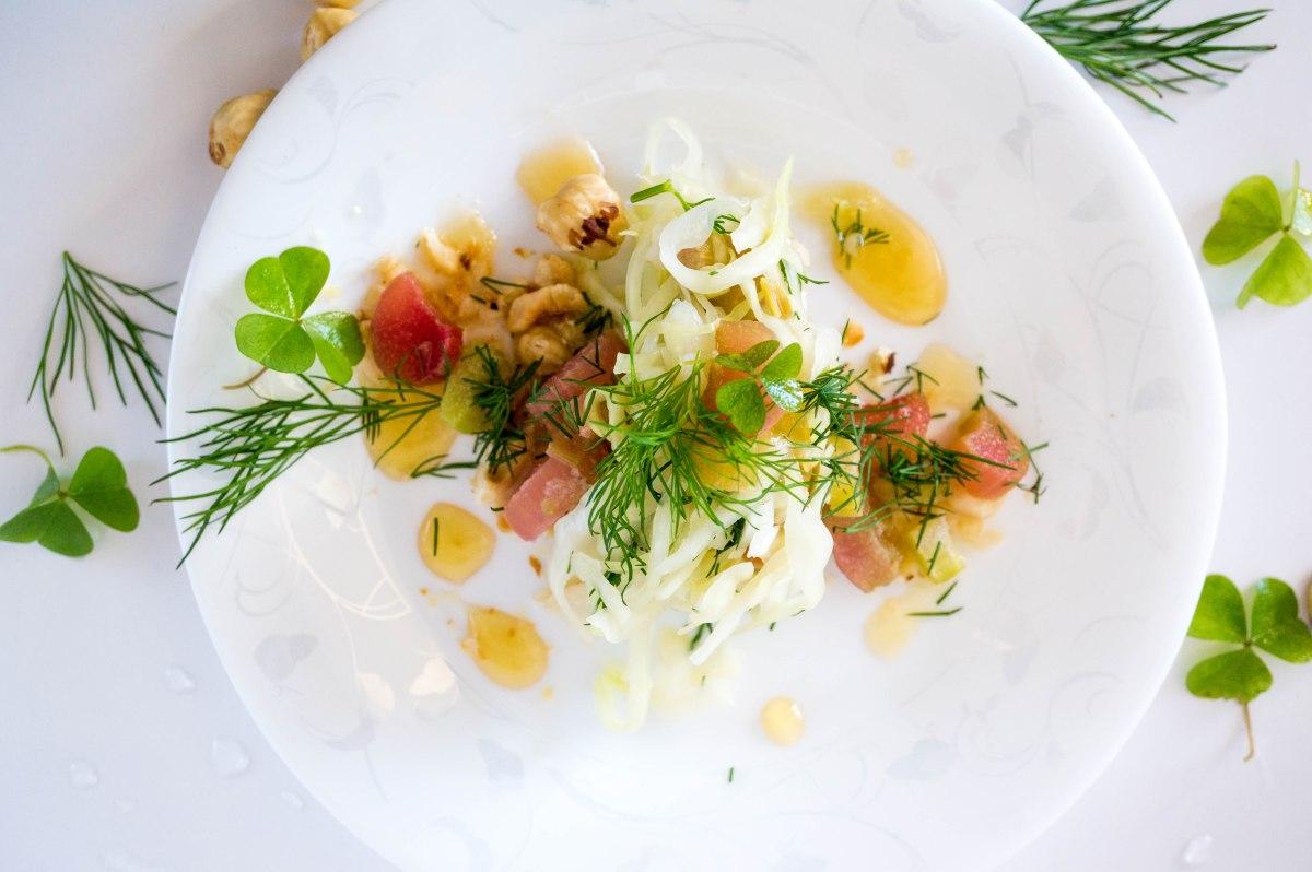 #recipeswap  Rhubarbsalad. Rabarberisalat