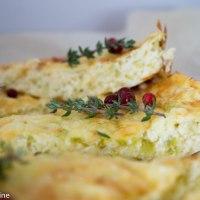 Zucchini and Cheese Pie. Suvikõrvitsa ja juustupirukas