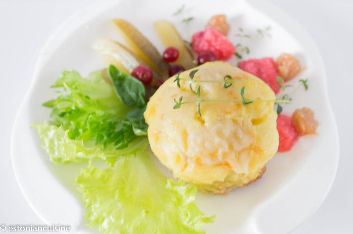 Potatoes Casserole. Kartuliporss