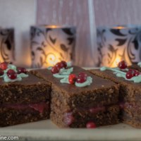 Soft Gingerbread Cake. Pehme plaadipiparkook
