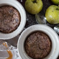 Porridge and Apple Pudding. Pudrupärapuding