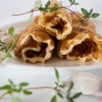 Potato waffles. Kartulivahvlid