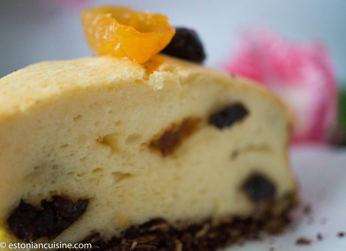 Easter Paskha Cake. Pashakook