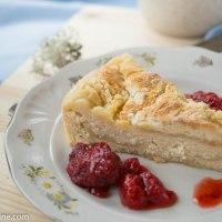 Simple Anniversary Quark cake. Juubeli kohupiimakook