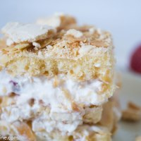 Crispy and Juicy Brita  Cake. Brita kook
