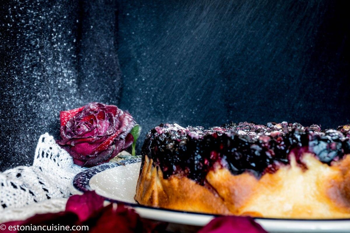 Berry Cake by Siiri. Siiri mustikakook